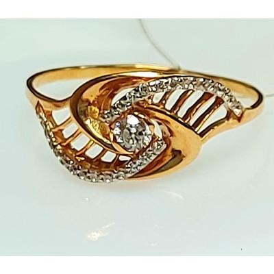 Золотое кольцо - 2,15 гр.