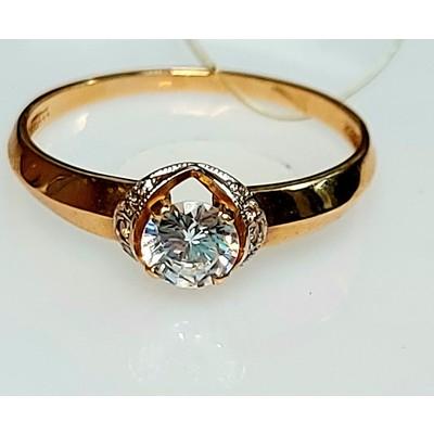 Золотое кольцо 1,76 гр.