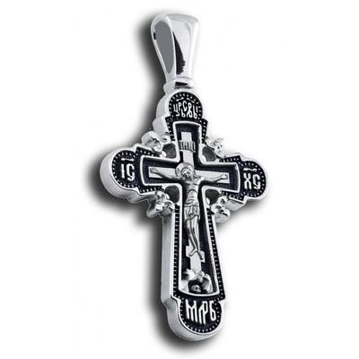 Крест Распятие Господа нашего Иисуса Христа [плетенка]