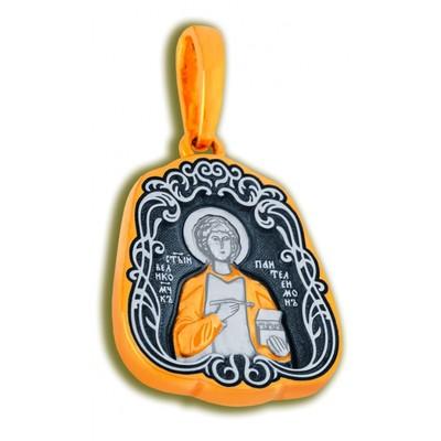 Икона Образ Святого Великомученика Пантелеймона Целителя