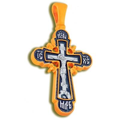 Крест Распятие Иисуса Христа [плетенка]