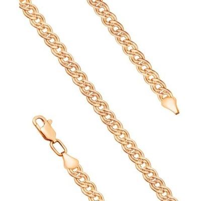 Золотая цепь, Нонна с лазерной огранкой - 3,85 гр.