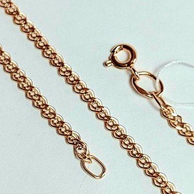 Золотая цепь, Нонна с лазерной огранкой - 2,41 гр.