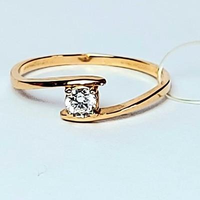Кольцо золотое - 1,41 гр.