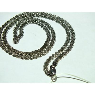 Цепь Нонна серебро с покрытием родия - 11,63 гр.