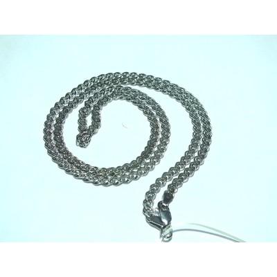 Цепь Нонна серебро с покрытием родия - 9,03 гр.