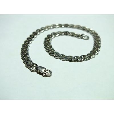 Браслет Нонна серебро с покрытием родия - 5,90 гр.