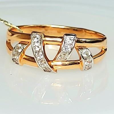 Кольцо золотое 2,63 гр