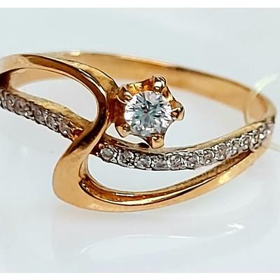 Золотое кольцо - 2,01 гр.