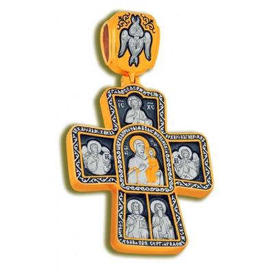 Крест Образ Пресвятой Богородицы Смоленской
