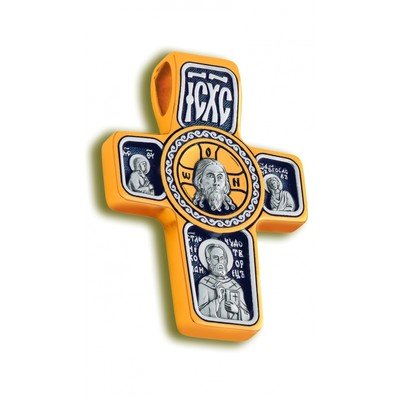 Крест Нерукотворный образ Иисуса Христа, Образ Святого Архангела Михаила