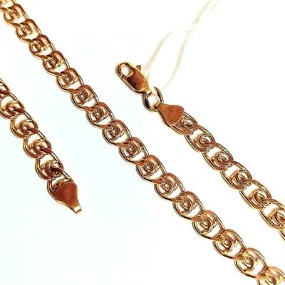 Золотая цепь, Лав с лазерной огранкой - 3,46 гр.